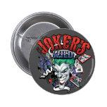 The Joker's Wild Pinback Button