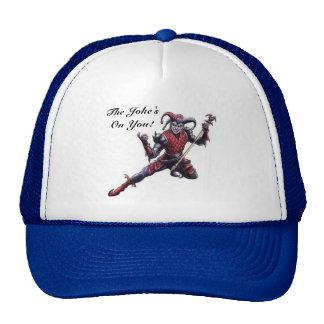 The Joke's On You Evil Jester Spirit and Staff Trucker Hat