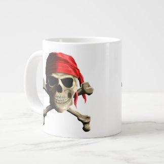 The Jolly Roger 20 Oz Large Ceramic Coffee Mug