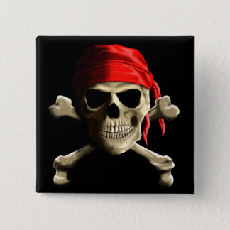The Jolly Roger Button