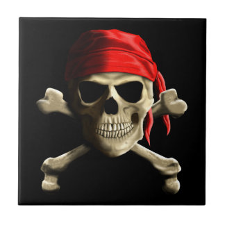 The Jolly Roger Ceramic Tile