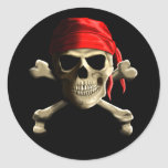 The Jolly Roger Classic Round Sticker