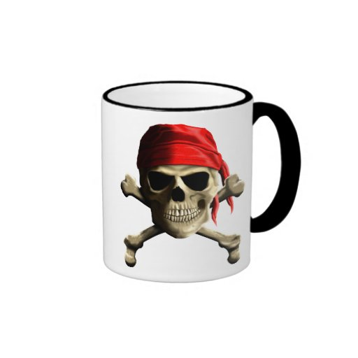 The Jolly Roger Coffee Mugs