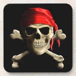 The Jolly Roger Drink Coaster