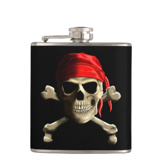 The Jolly Roger Flask