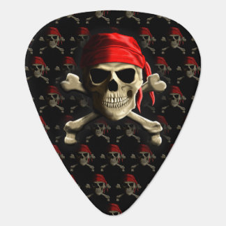 The Jolly Roger Guitar Pick