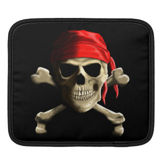 The Jolly Roger iPad Sleeves