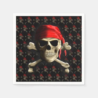 The Jolly Roger Paper Napkin