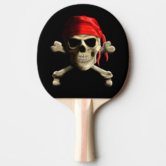 The Jolly Roger Ping-Pong Paddle