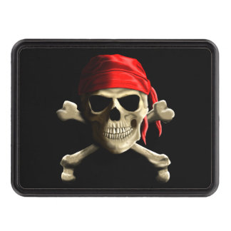 The Jolly Roger Tow Hitch Cover
