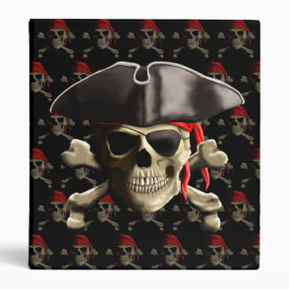 The Jolly Roger Pirate Skull Binders