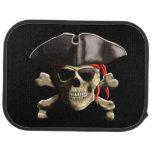 The Jolly Roger Pirate Skull Car Mat at Zazzle