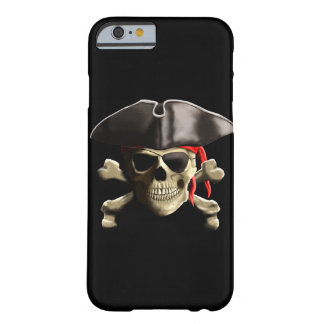 The Jolly Roger Pirate Skull Barely There iPhone 6 Case