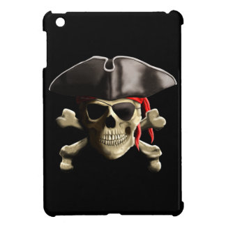 The Jolly Roger Pirate Skull iPad Mini Cover