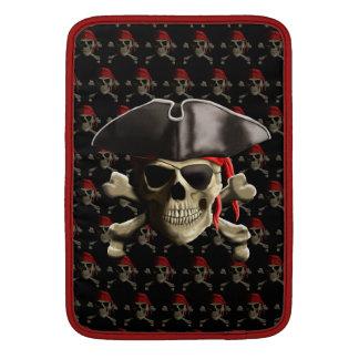 The Jolly Roger Pirate Skull MacBook Air Sleeve