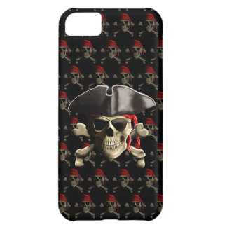 The Jolly Roger Pirate Skull iPhone 5C Case
