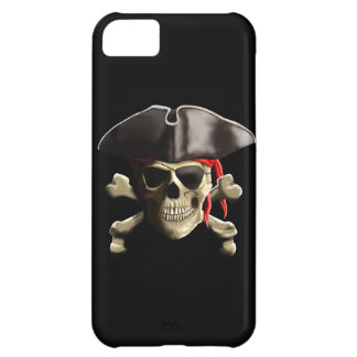 The Jolly Roger Pirate Skull iPhone 5C Cover