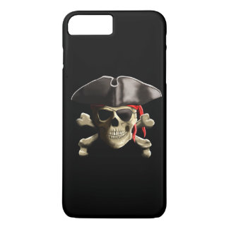 The Jolly Roger Pirate Skull iPhone 7 Plus Case