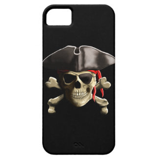 The Jolly Roger Pirate Skull iPhone SE/5/5s Case
