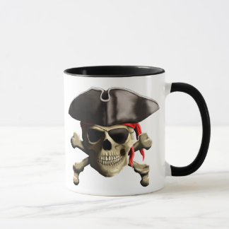 The Jolly Roger Pirate Skull Mug