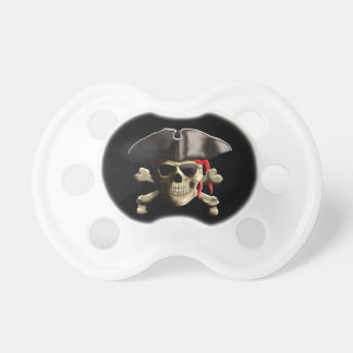 The Jolly Roger Pirate Skull Pacifier