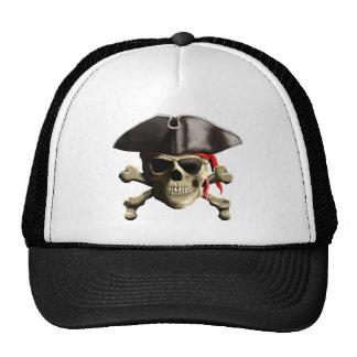 The Jolly Roger Pirate Skull Trucker Hat