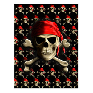 The Jolly Roger Postcard
