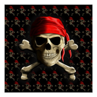 The Jolly Roger Poster