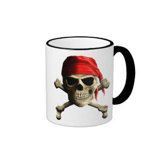 The Jolly Roger Ringer Coffee Mug