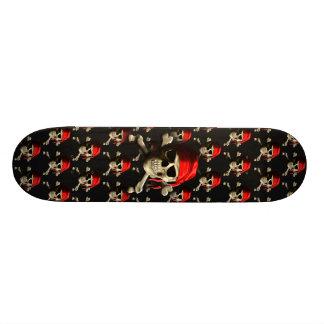 The Jolly Roger Skateboard