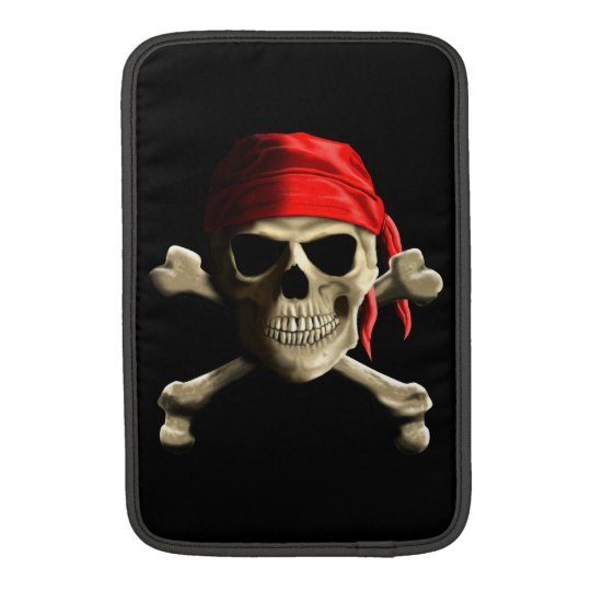 The Jolly Roger Sleeve For MacBook Air