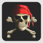 The Jolly Roger Square Sticker