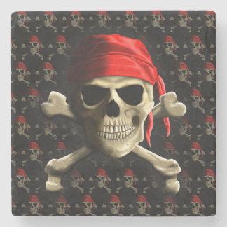 The Jolly Roger Stone Coaster