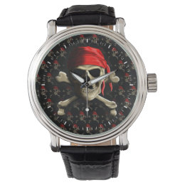 The Jolly Roger Wrist Watch