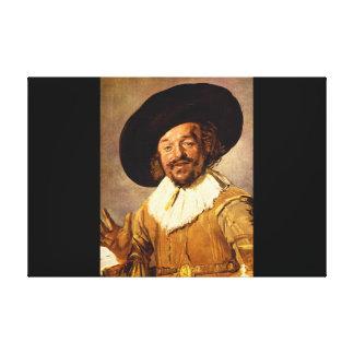 The Jolly Toper', Franz Hals_Dutch Masters Canvas Print