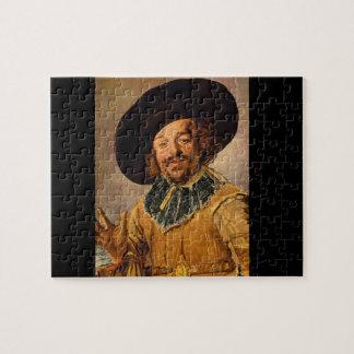 The Jolly Toper', Franz Hals_Dutch Masters Jigsaw Puzzle