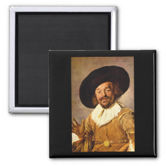 The Jolly Toper', Franz Hals_Dutch Masters Magnet