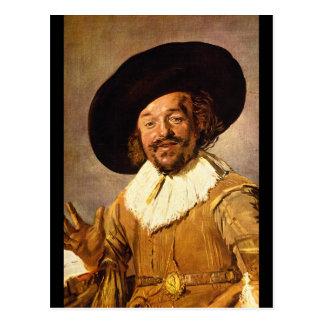 The Jolly Toper', Franz Hals_Dutch Masters Postcard