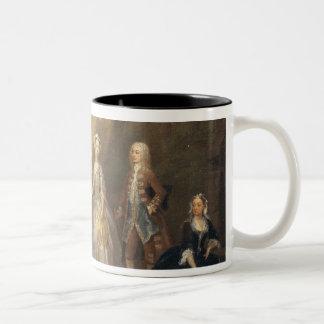 The Jones Family, c.1730-1 Two-Tone Coffee Mug