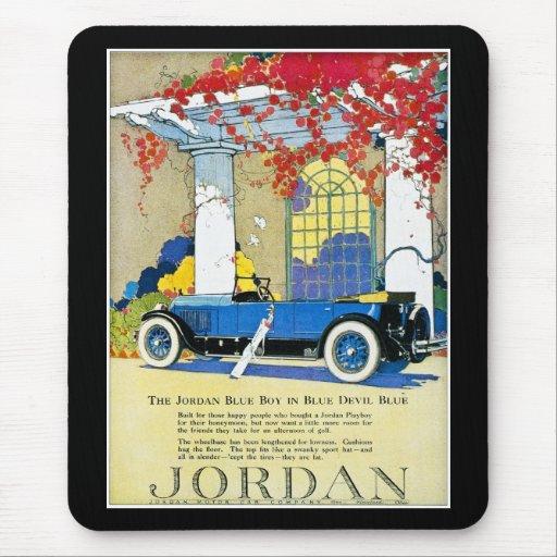 The Jordan Blue Boy Mousepads