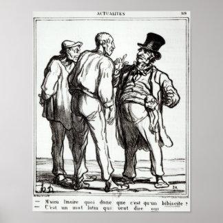 The Journal 'Le Charivari' Poster