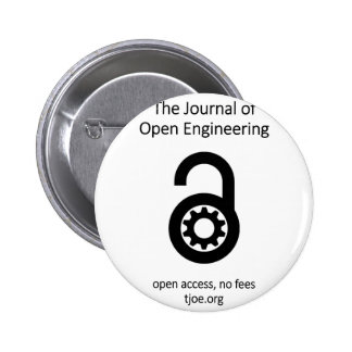 The Journal of Open Engineering Pinback Button