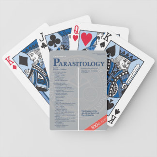 The Journal of Parasitology 100th Anniversary Bicycle Playing Cards