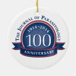 The Journal of Parasitology 100th Anniversary Ornament