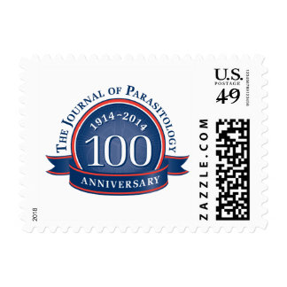 The Journal of Parasitology 100th Anniversary Postage