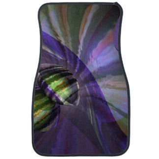 The Journey Abstract Car Mat