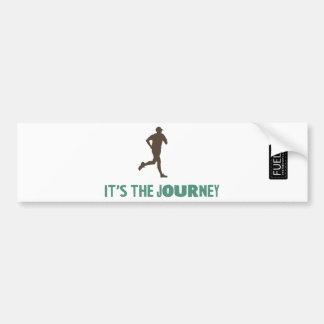 The Journey Bumper Sticker