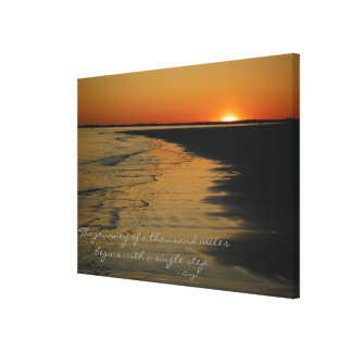The Journey Stretched Canvas Prints