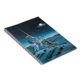 The Journey - Don Quixote Cartoon - Cervantes Notebook