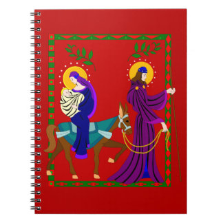 The Journey From Bethlehem Spiral Notebook